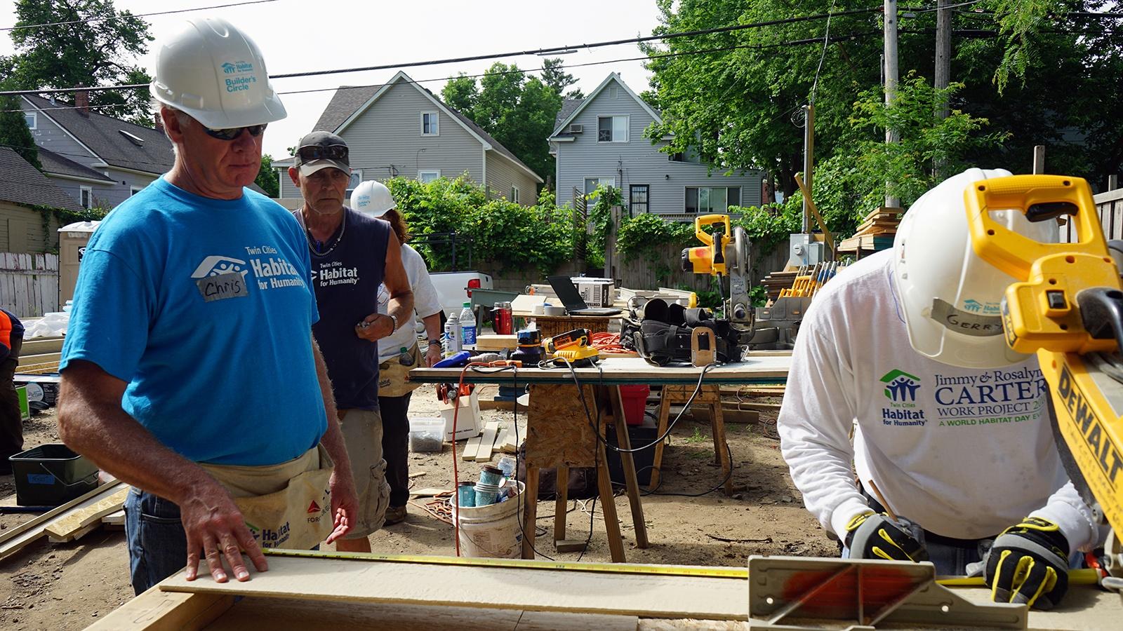 Chris at Builders Circle Build