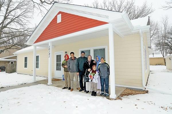 Winter home dedication