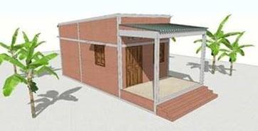 Design of Habitat home in Vietnam