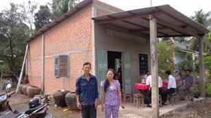 Habitat home in Vietnam