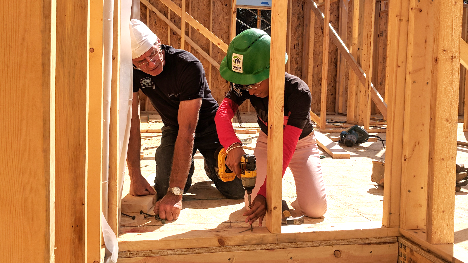 Global Village Gone Local Build: Twin Cities Habitat for Humanity