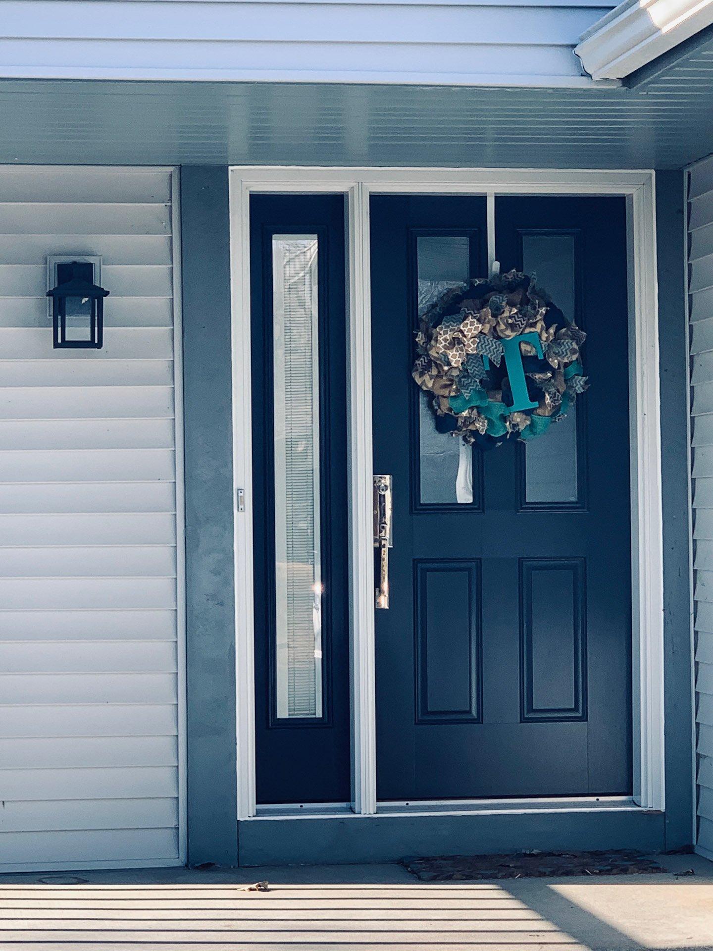 Shereese's front door