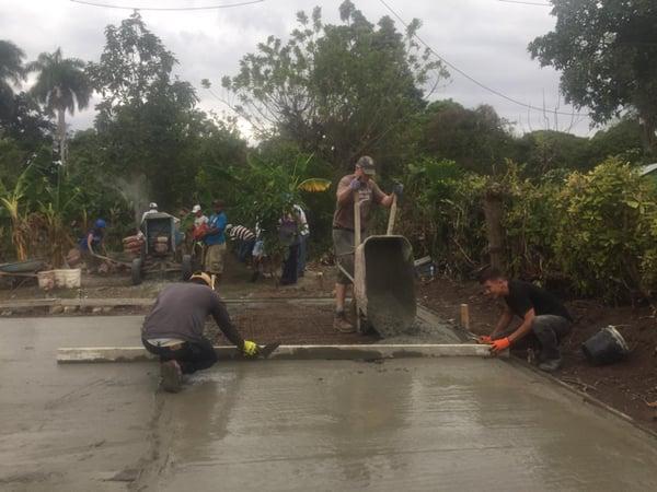DR cement work