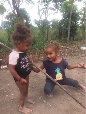 kiddos in the DR