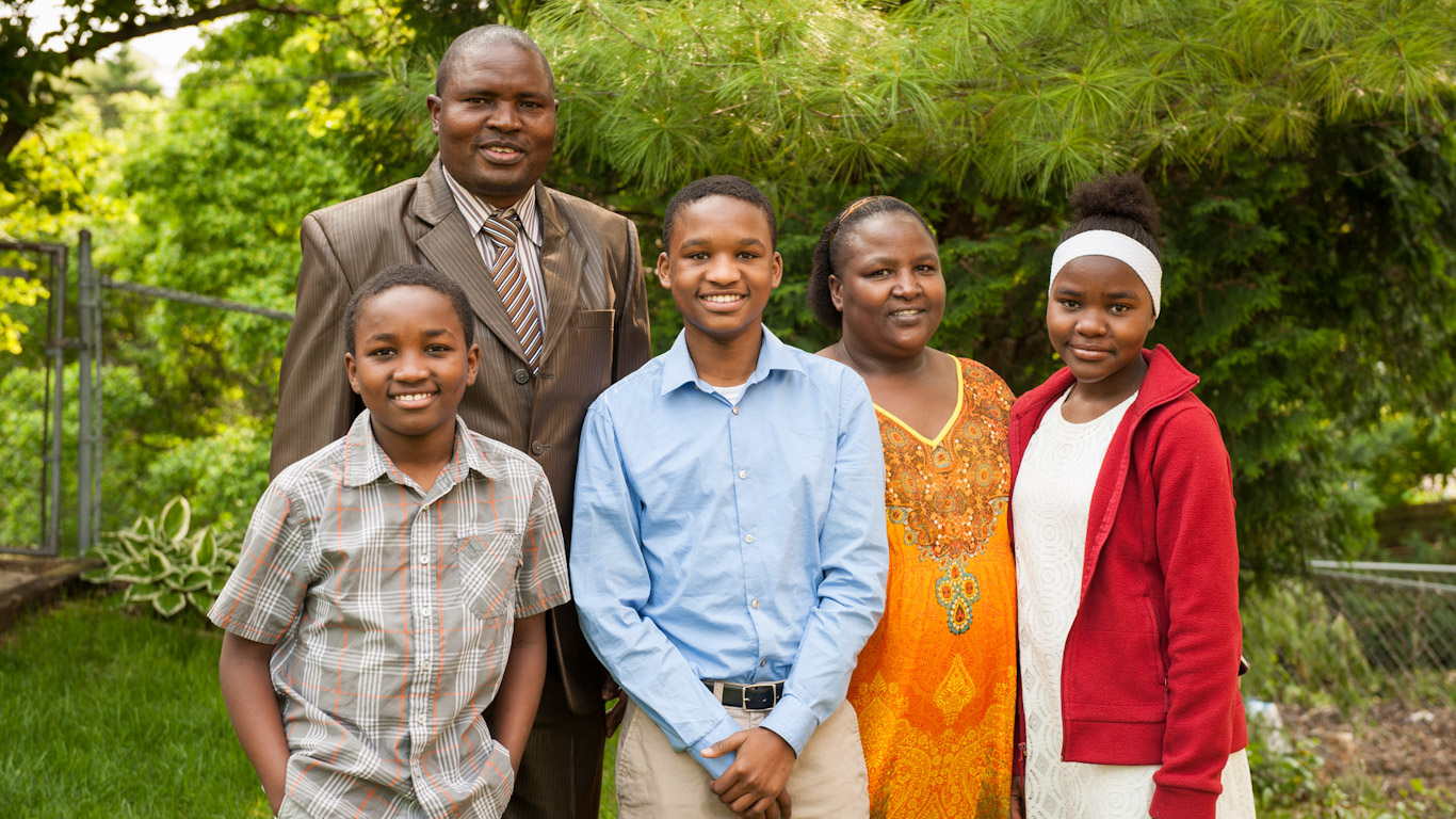 Vivian's family