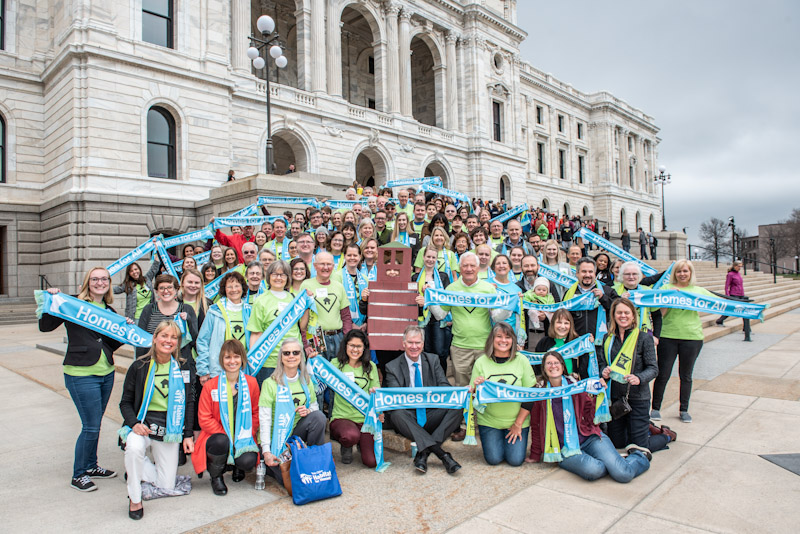 Group in front of the Capitol