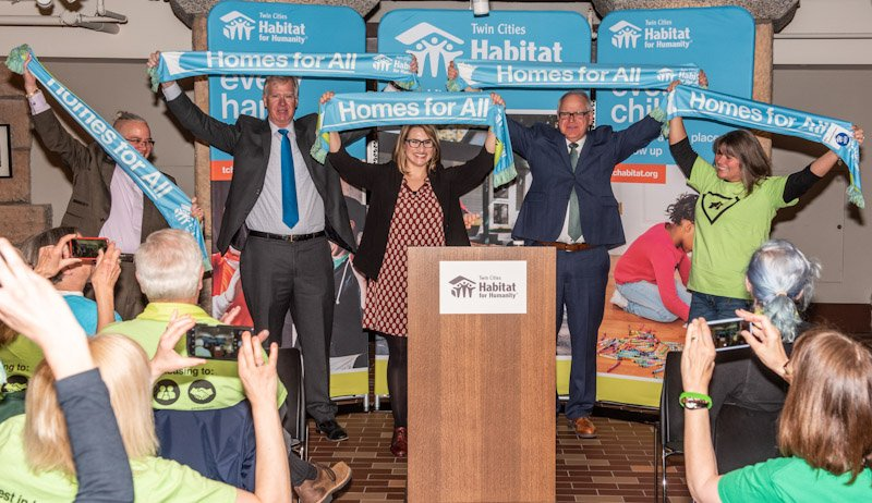 Speakers at Habitat on the Hill