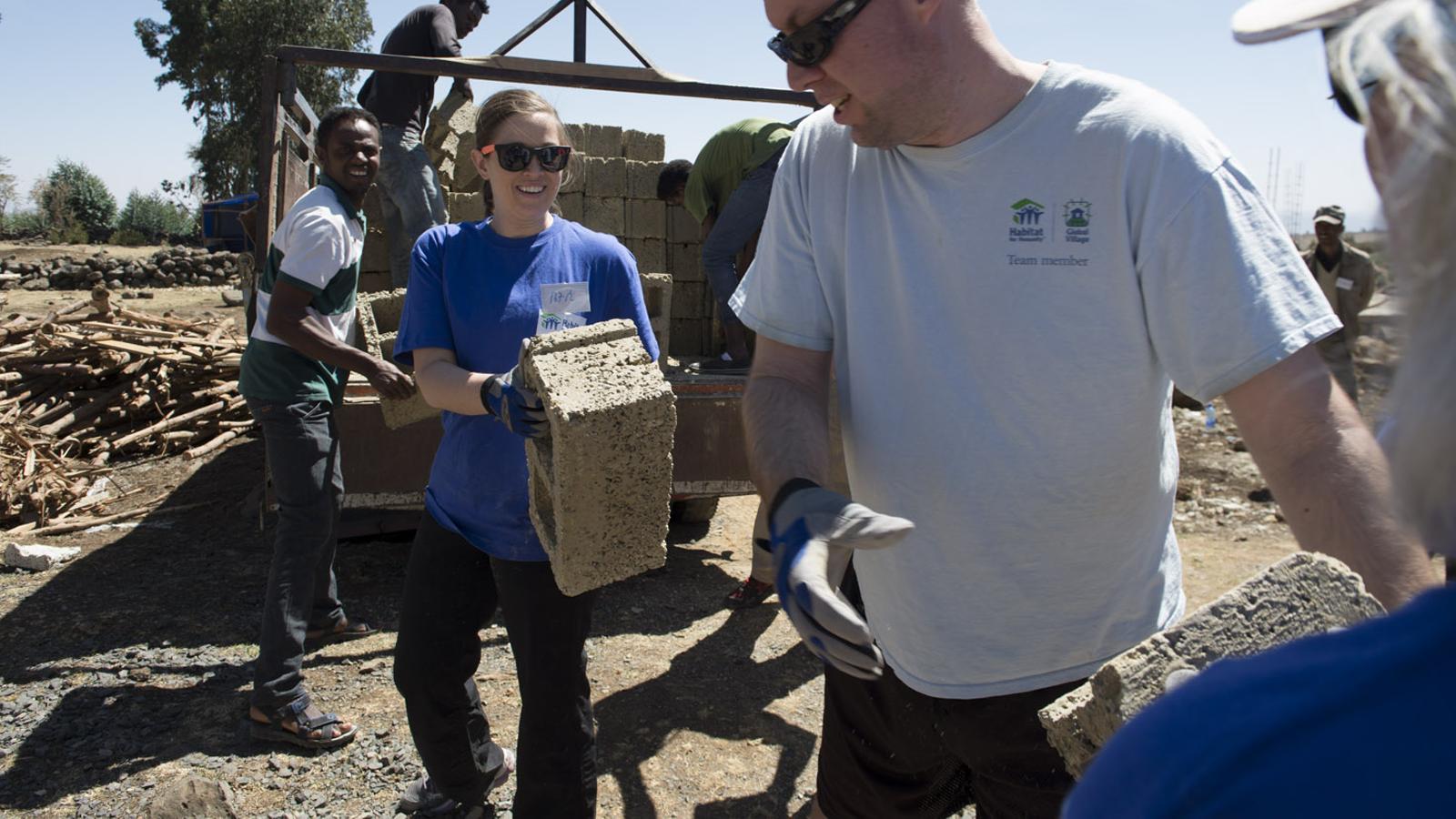 Ethiopia volunteers