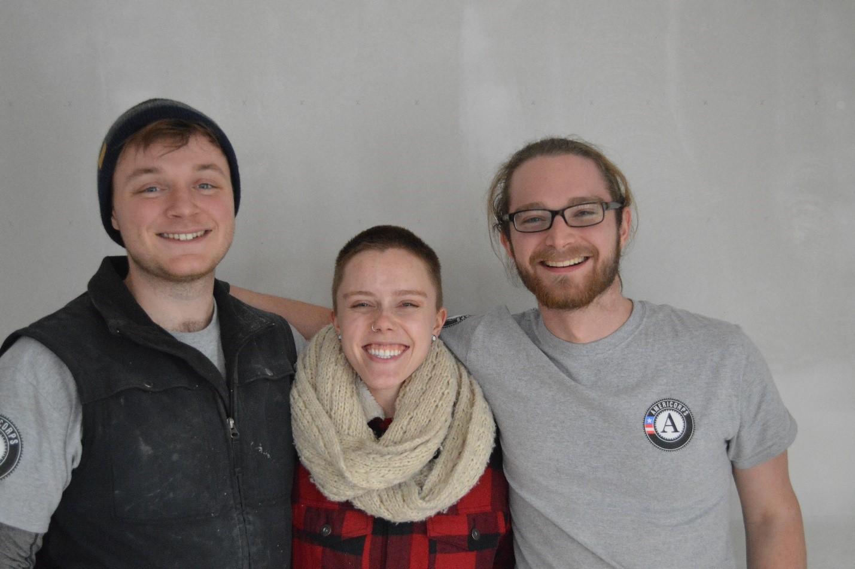 Smiling AmeriCorps members