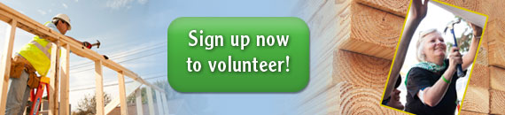 Sign Up Now To Volunteer