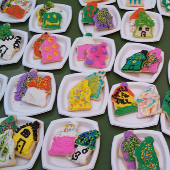 Habitat Off the Hill 2015 cookie decorating