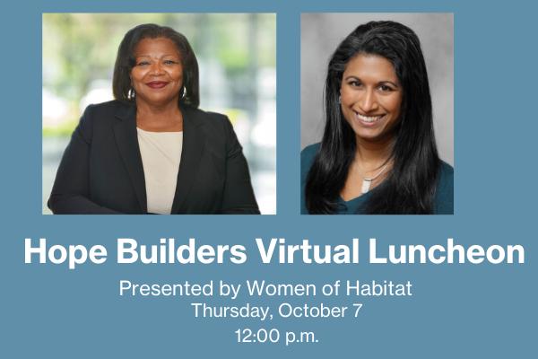 Hope Builders Virtual Luncheon