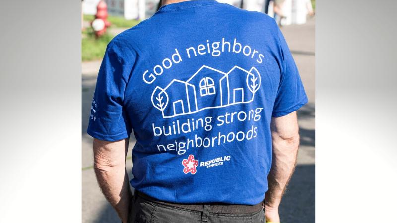 Good neighbors building strong neighborhoods, Republic Services