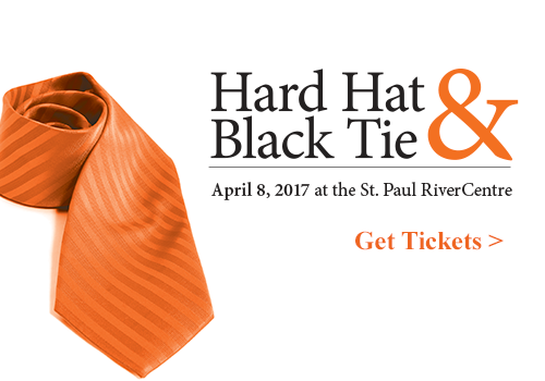 Get your tickets to our annual Hard Hat & Black Tie Gala taking place on April 8!