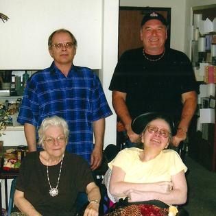 Jon, Dave, Jane Anne, and Beverly Pawlik