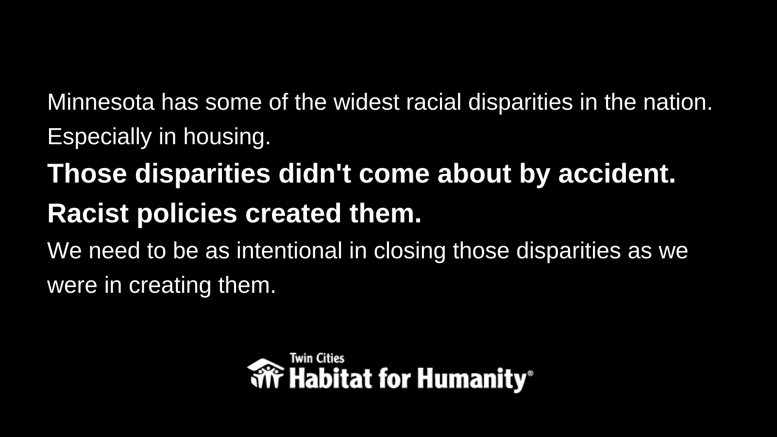 Racial disparities in housing didn't happen by accident.