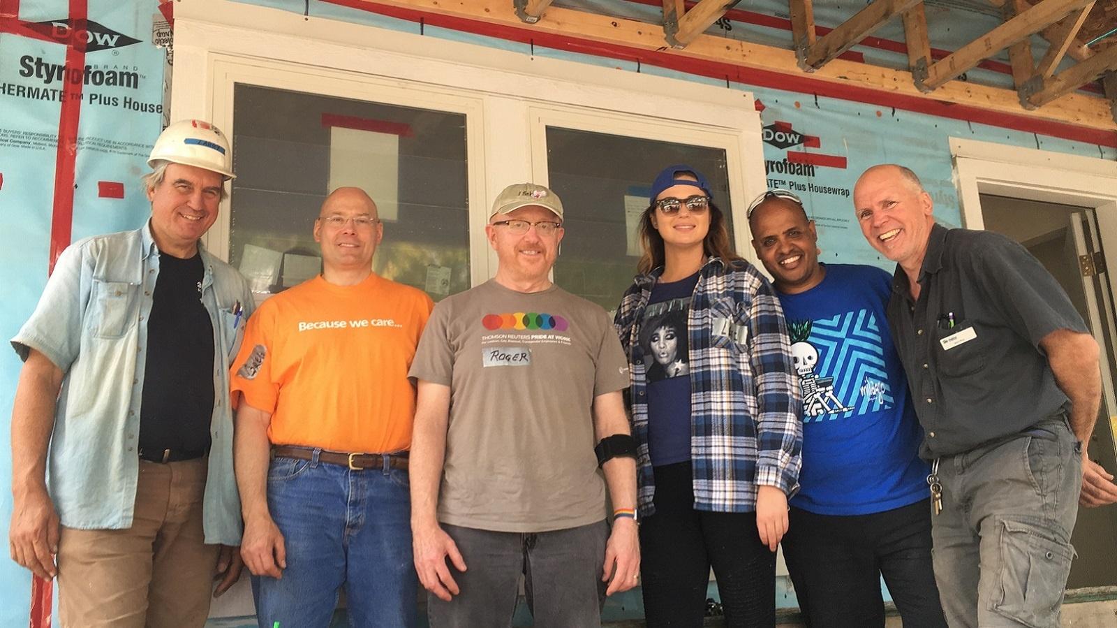 Rainbow Build Volunteers