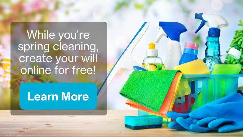 While you're spring cleaning, update your will for free with FreeWill