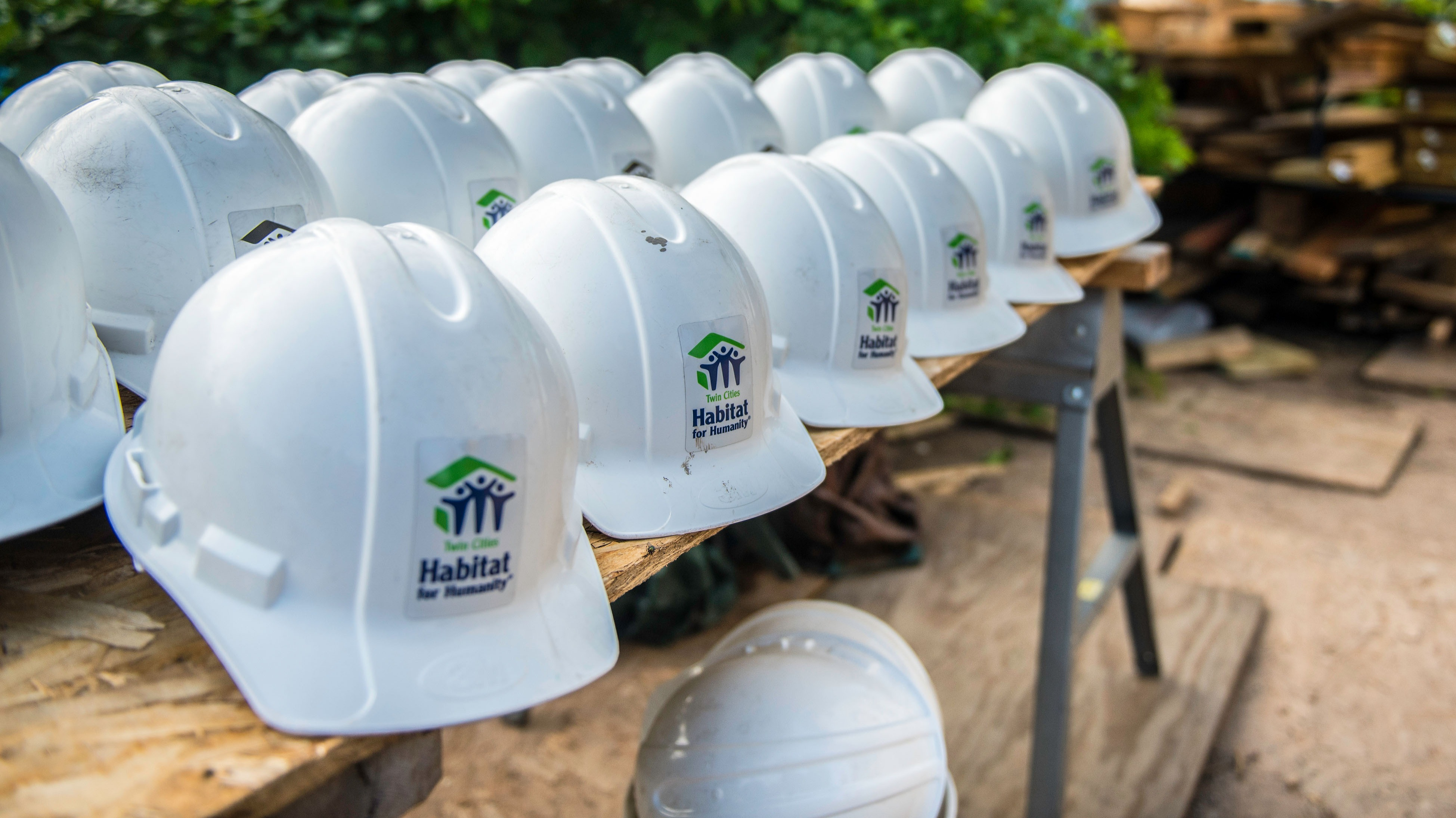 Twin Cities Habitat for Humanity hard hats