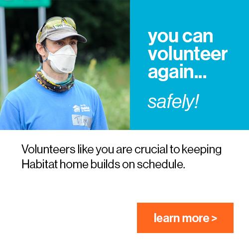 volunteer safely pop up