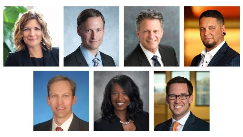 introducing seven new board members Anne Behrendt, Bill Gould, Bob Israel, Cole Miller, Ralph Pace, Michelle Robinson, and Eric Skalland