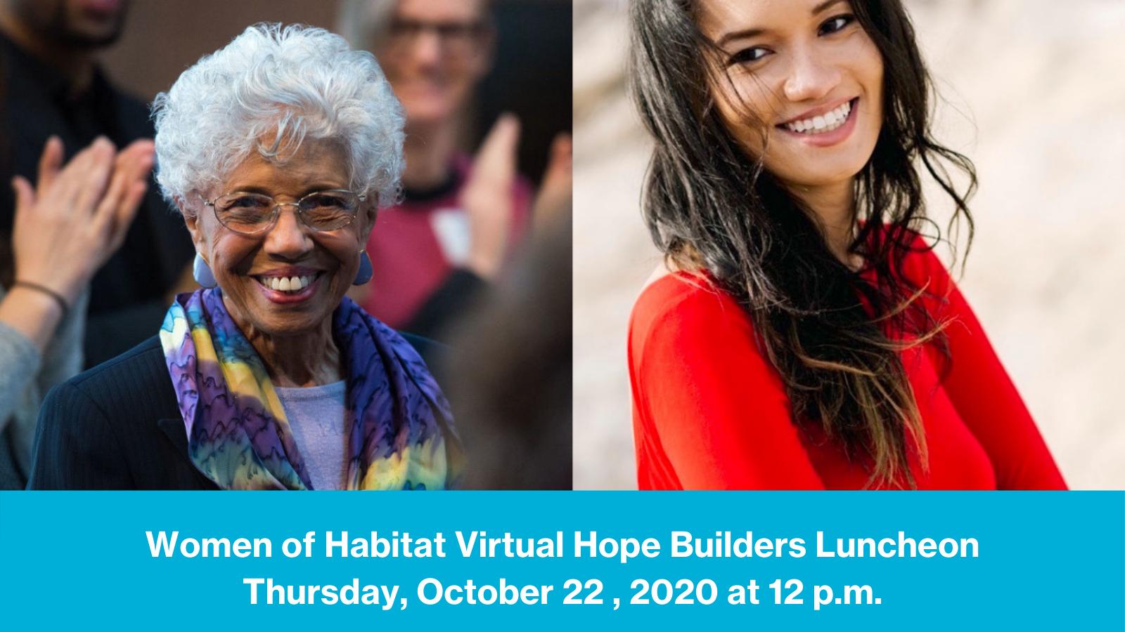 women of habitat hope builders fundraising luncheon with josie johnson and josie duffy rice