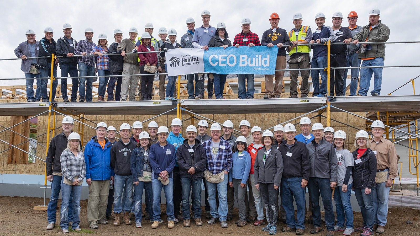 CEO Build group photo