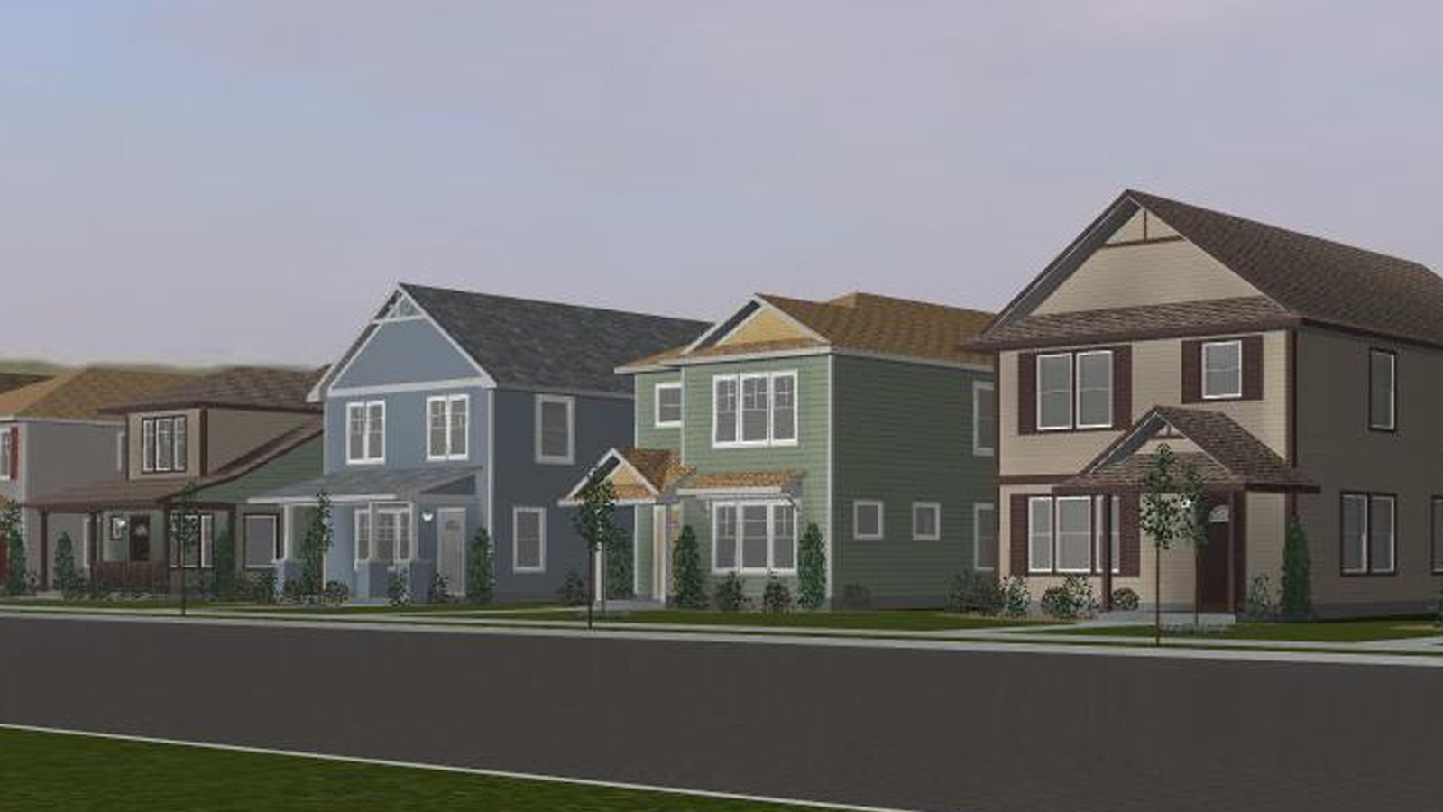 Willow Reserve Project Rendering